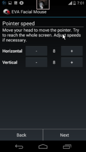 How To Control your Android smartphone with head movements Or Face